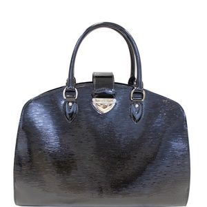 LOUIS VUITTON PONT-NEUF GM EPI LEATHER SATCHEL BAG